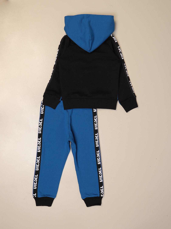 Tracksuit Diesel: Complete sweatshirt + jogging pants Diesel blue 2