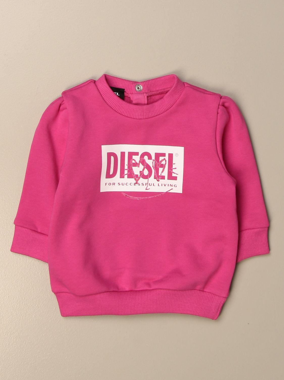 Jersey Diesel: Jersey niños Diesel rojo 1