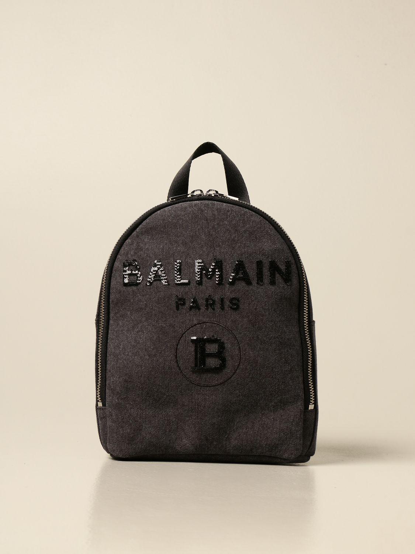 Chaqueta Balmain: Bolso niños Balmain gris 1