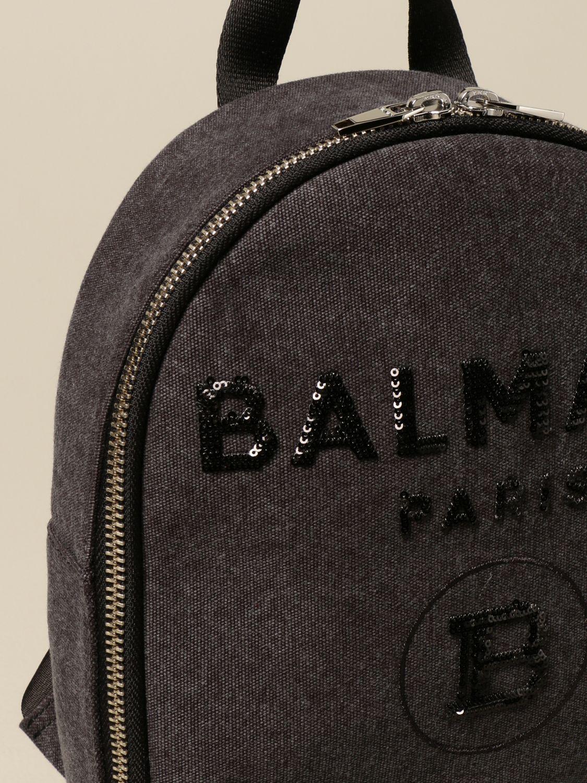 Chaqueta Balmain: Bolso niños Balmain gris 3