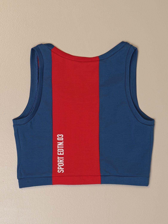 上衣 Dsquared2 Junior: T恤 儿童 Dsquared2 Junior 蓝色 2