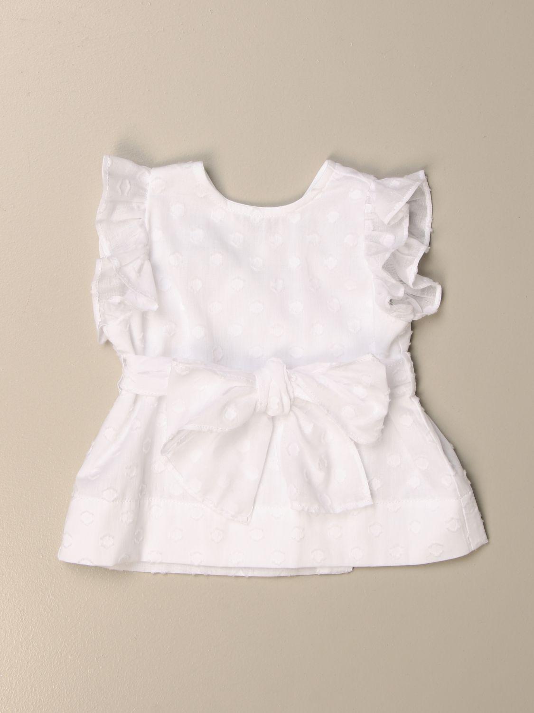 Блузка Il Gufo: Рубашка Детское Il Gufo белый 1