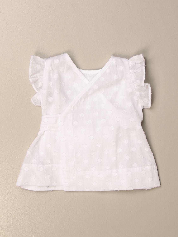 Блузка Il Gufo: Рубашка Детское Il Gufo белый 2
