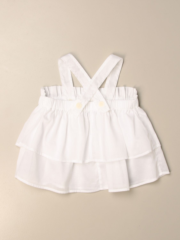 Jupe Il Gufo: Chemise enfant Il Gufo blanc 2