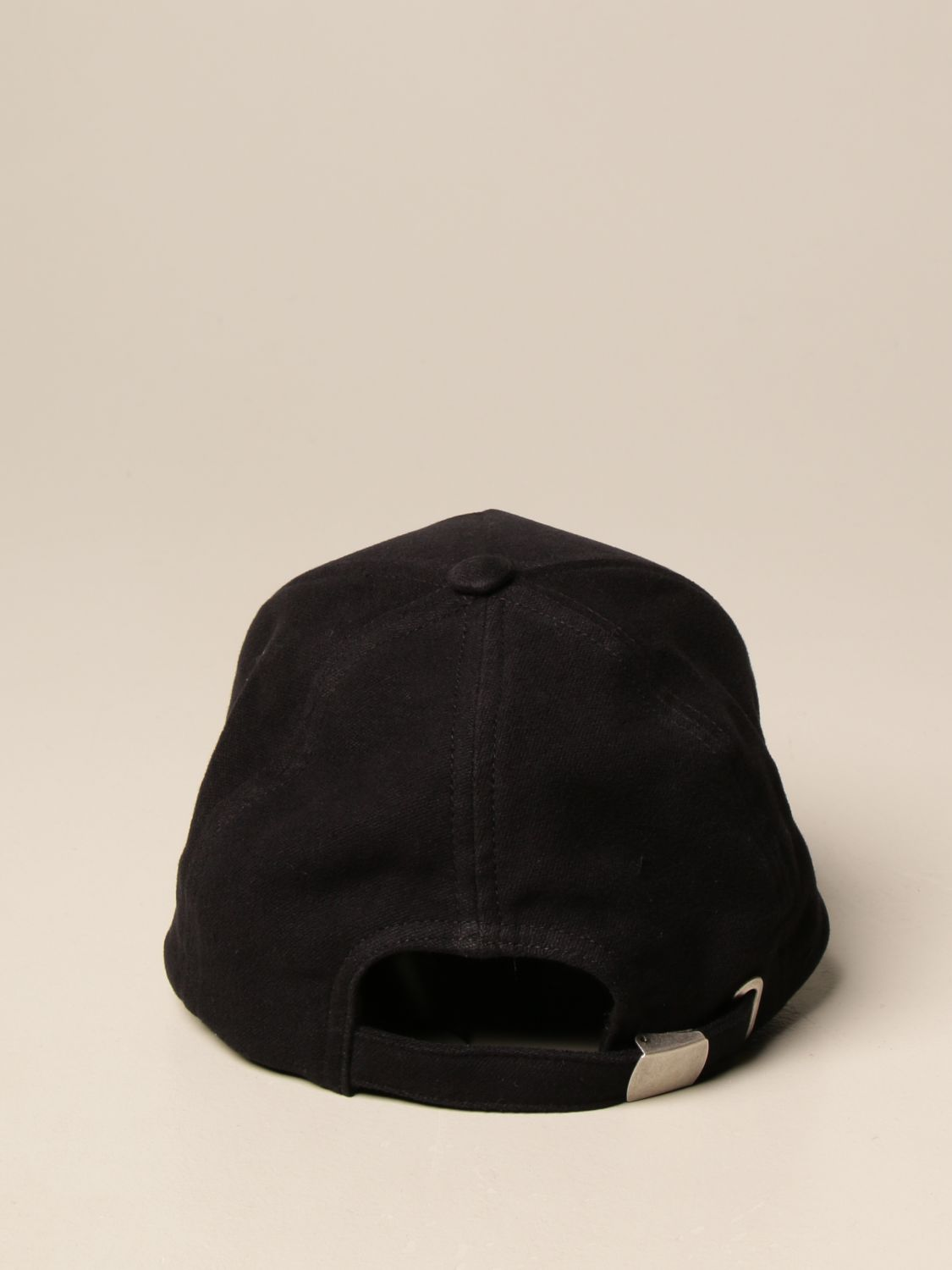 Hat Balmain: Balmain baseball cap with logo black 1 3