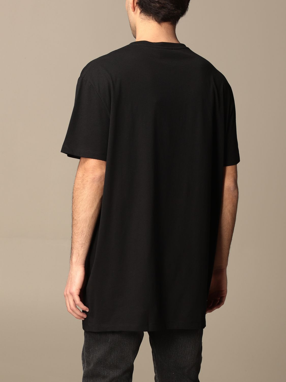 T-shirt Balmain: Balmain cotton t-shirt with logo multicolor 3