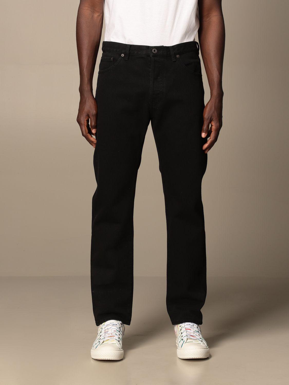 Jeans Valentino: Valentino 5-pocket jeans with VLTN logo black 1