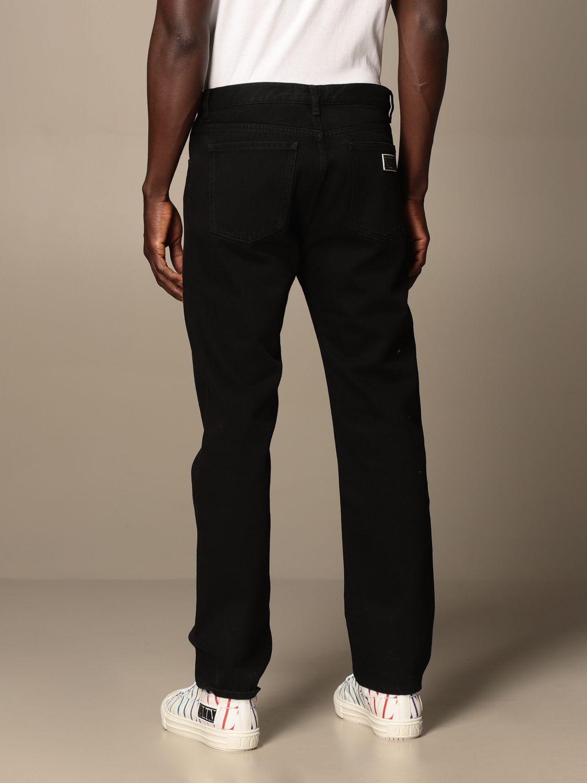 Jeans Valentino: Valentino 5-pocket jeans with VLTN logo black 2