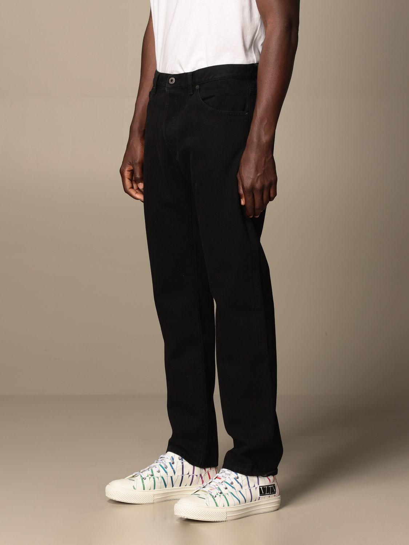 Jeans Valentino: Valentino 5-pocket jeans with VLTN logo black 3