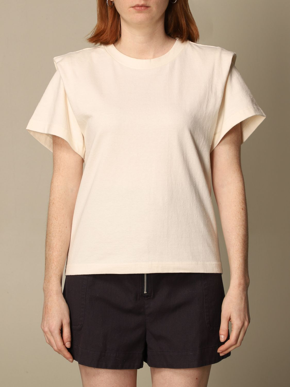 T-Shirt Isabel Marant: T-shirt damen Isabel Marant ecru 1