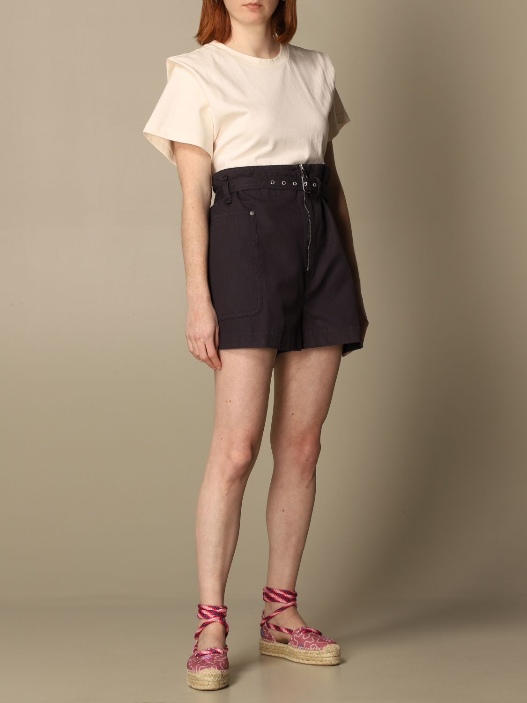 T-Shirt Isabel Marant: T-shirt damen Isabel Marant ecru 2