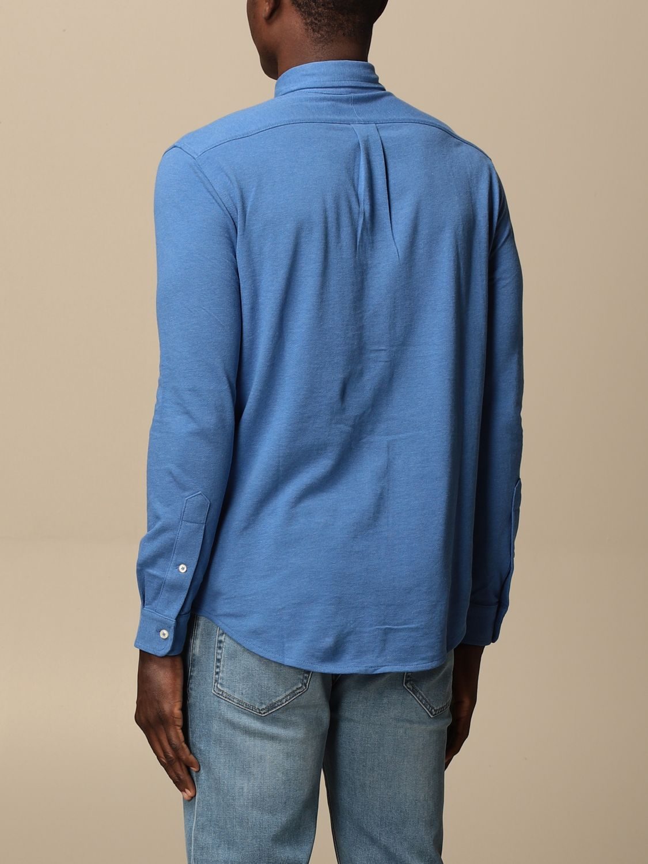 Chemise Polo Ralph Lauren: Chemise homme Polo Ralph Lauren bleu azur 2