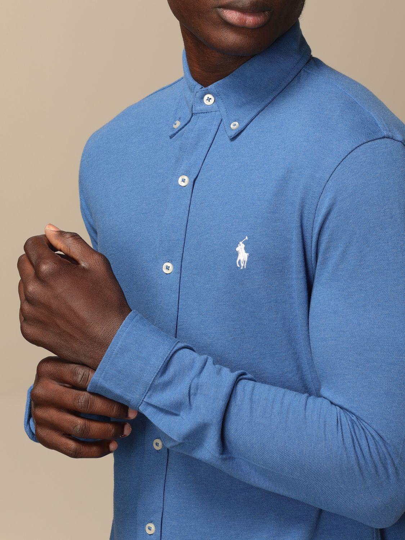 Chemise Polo Ralph Lauren: Chemise homme Polo Ralph Lauren bleu azur 3