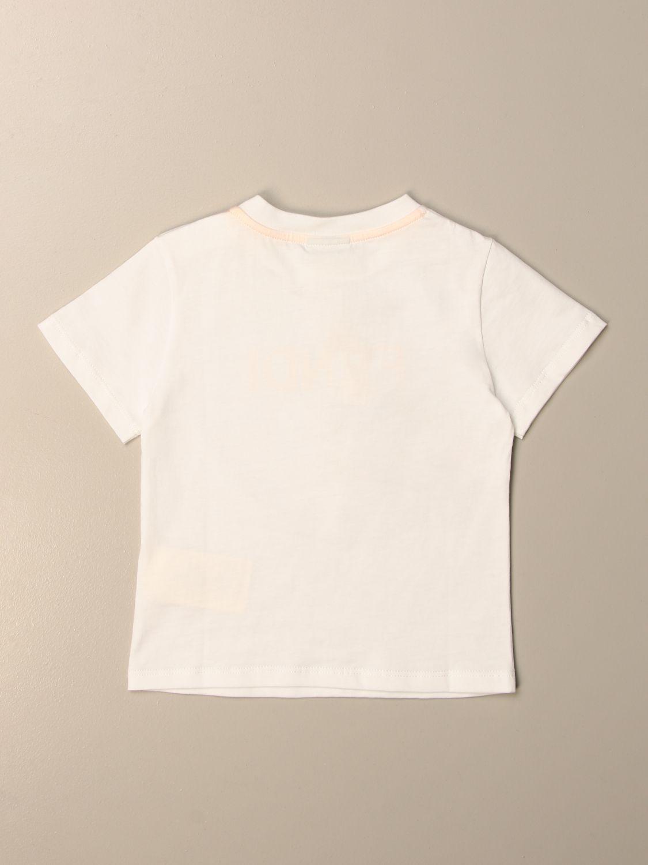 Camiseta Fendi: Camiseta niños Fendi blanco 2