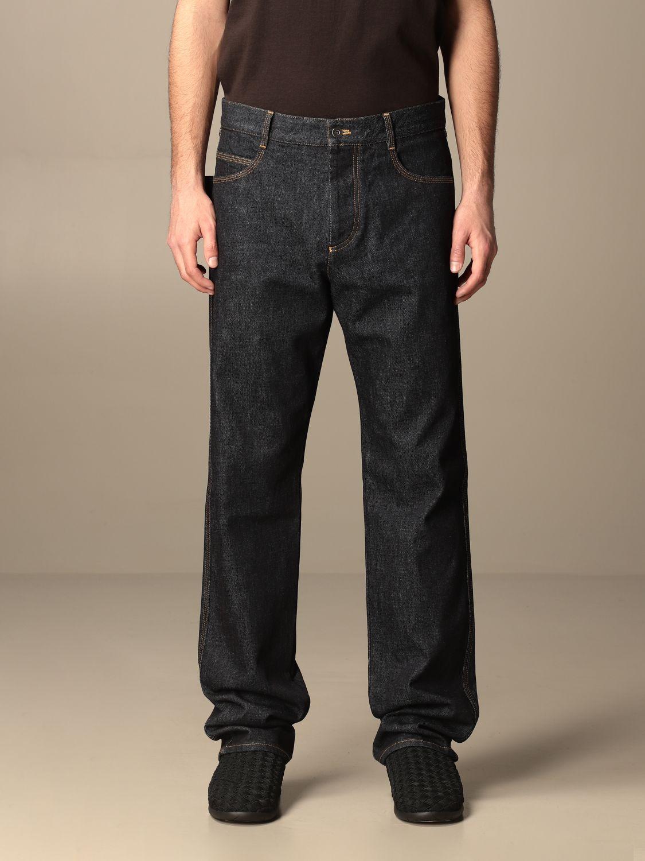Pants Bottega Veneta: Bottega Veneta 5-pocket denim jeans blue 1