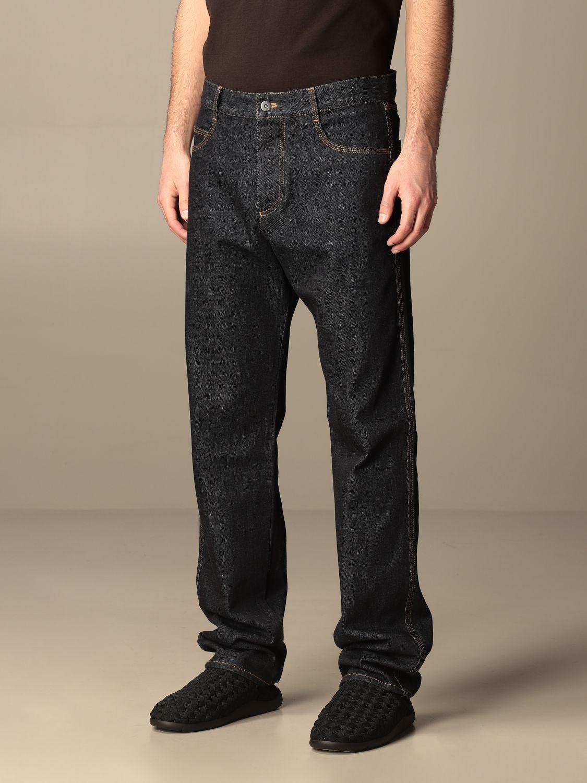 Pants Bottega Veneta: Bottega Veneta 5-pocket denim jeans blue 4