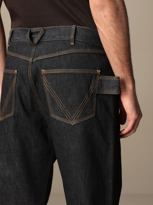 Pants Bottega Veneta: Bottega Veneta 5-pocket denim jeans blue 5