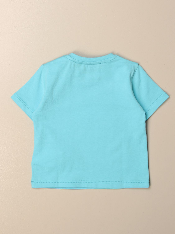 T-shirt Young Versace: T-shirt Versace Young in cotone con logo fantasia 2