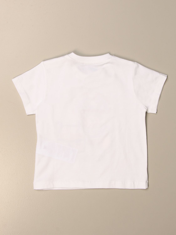 Camiseta Moschino Baby: Camiseta niños Moschino Baby blanco 2