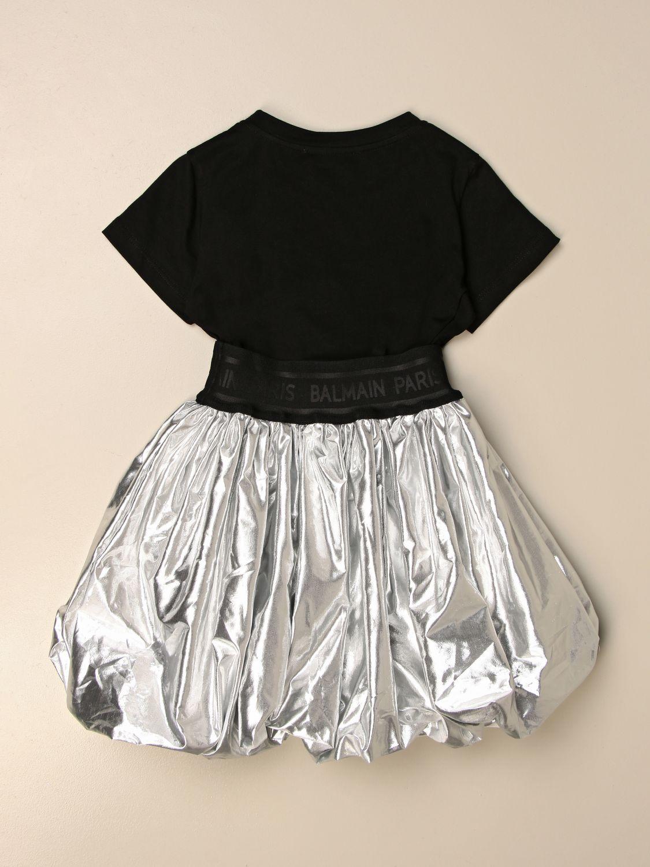 Vestido Balmain: Vestido niños Balmain plata 2