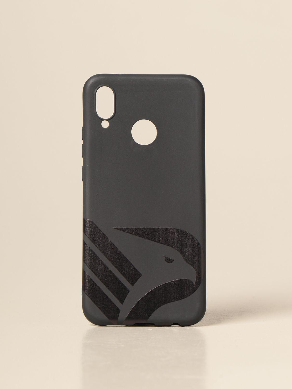 Cover Palermo: Cover logo nero in vari modelli nero 3