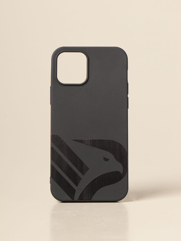 Cover Palermo: Cover logo nero in vari modelli nero 9