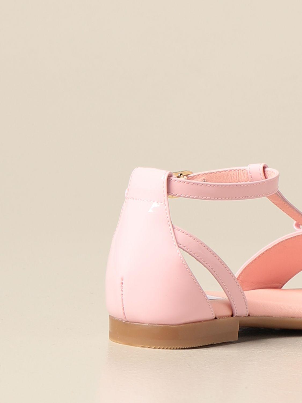 Shoes Dolce & Gabbana: Dolce & Gabbana patent leather sandal pink 3