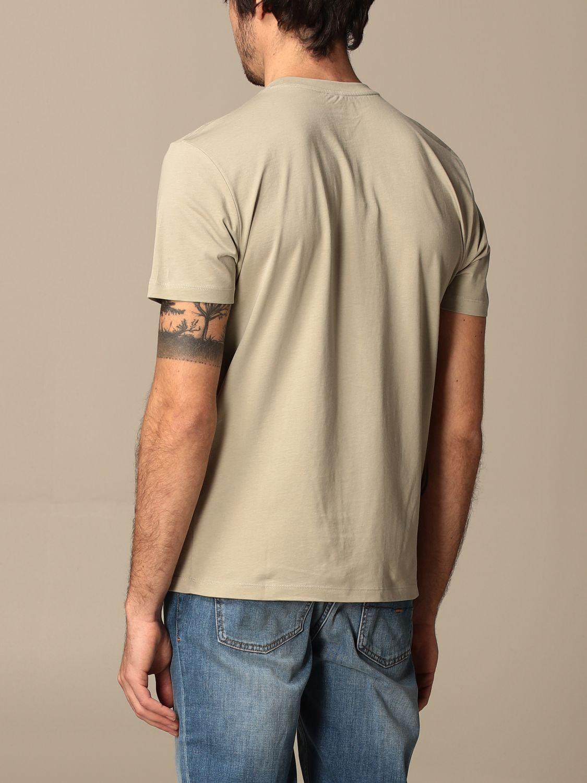 T-shirt Blauer: T-shirt Blauer in cotone con logo grigio 2