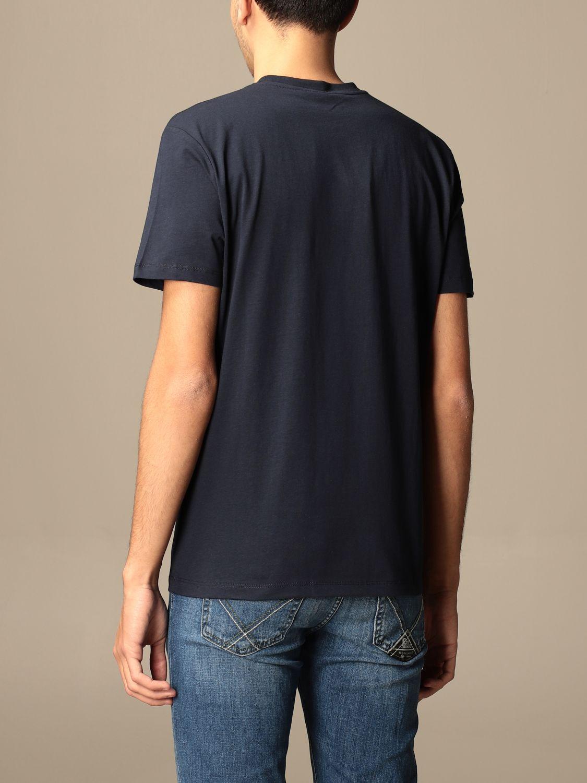 T-shirt Blauer: Blauer cotton t-shirt with logo sapphire 2
