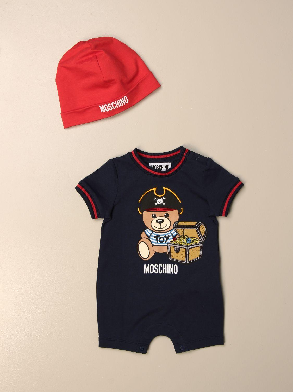 Pack Moschino Baby: Monopieza niños Moschino Baby azul oscuro 1