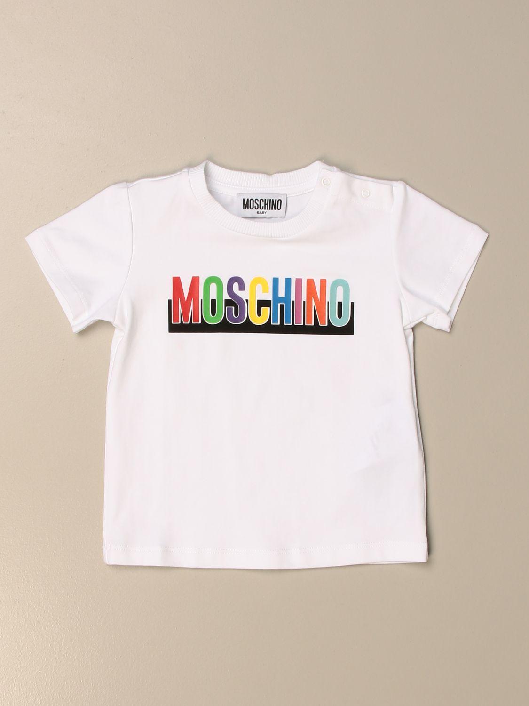 Camiseta Moschino Baby: Jersey niños Moschino Baby blanco 1