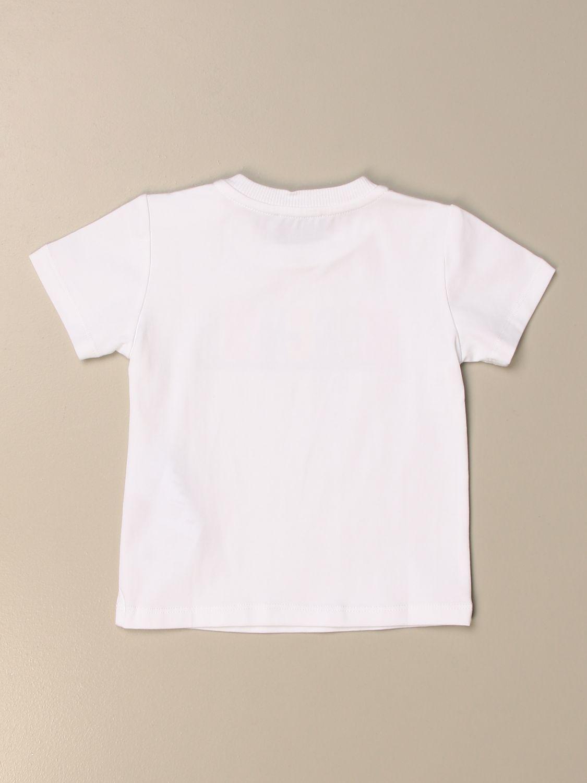 Camiseta Moschino Baby: Jersey niños Moschino Baby blanco 2