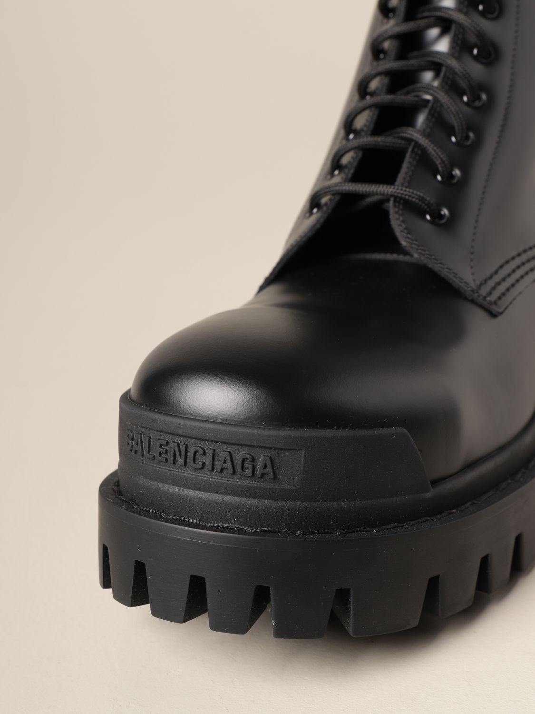 Bottines Balenciaga: Bottines homme Balenciaga noir 4