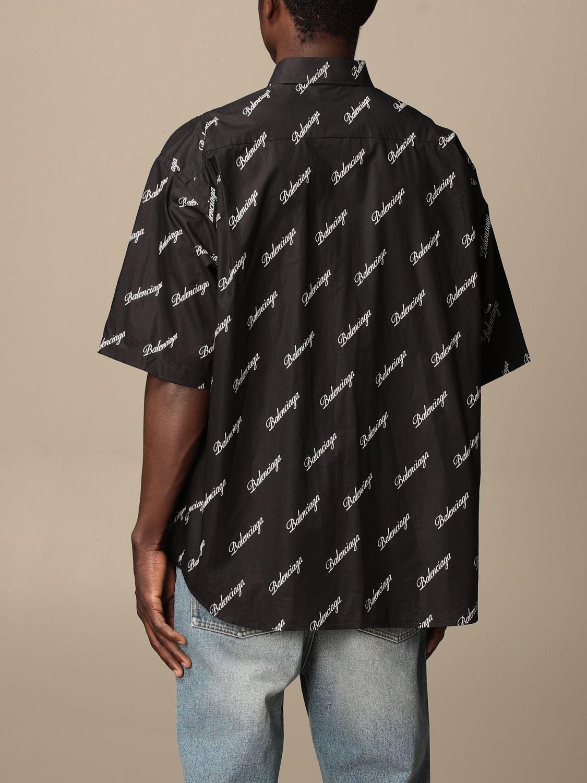 Chemise Balenciaga: Chemise homme Balenciaga noir 3