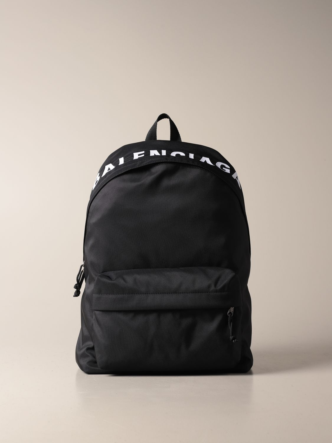 Shoulder bag Balenciaga: Balenciaga nylon backpack black 1