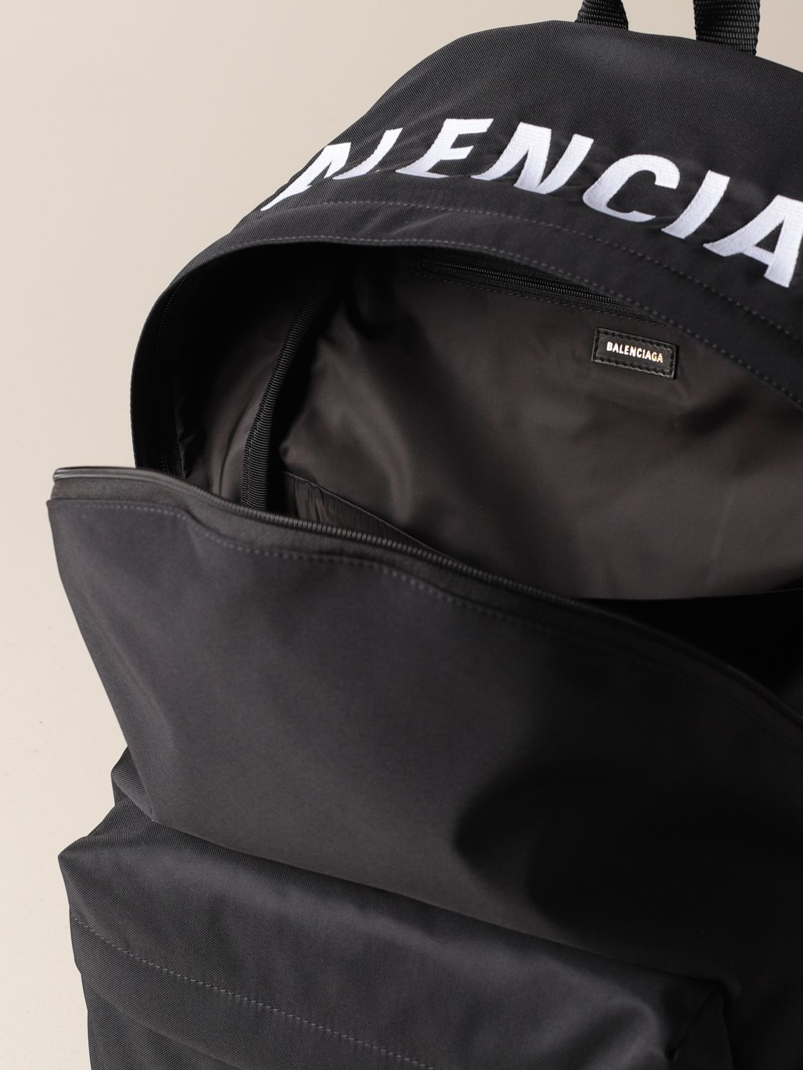 Shoulder bag Balenciaga: Balenciaga nylon backpack black 5