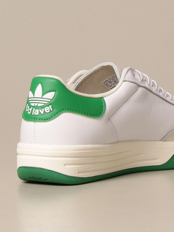 Trainers Adidas Originals: Rod Laver Adidas Originals leather sneakers white 3