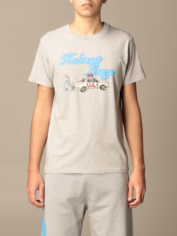 Camiseta Helmut Lang: Camiseta hombre Helmut Lang gris 1