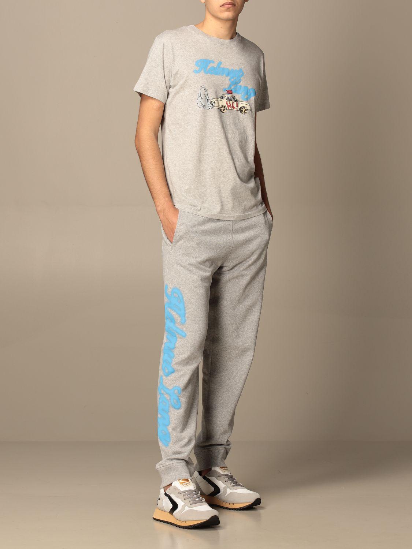 Camiseta Helmut Lang: Camiseta hombre Helmut Lang gris 2