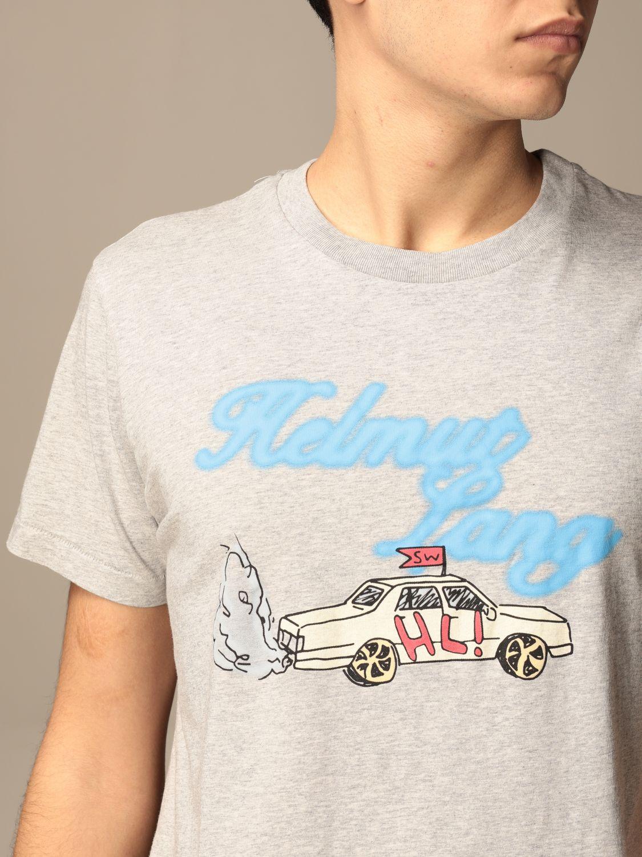 Camiseta Helmut Lang: Camiseta hombre Helmut Lang gris 4