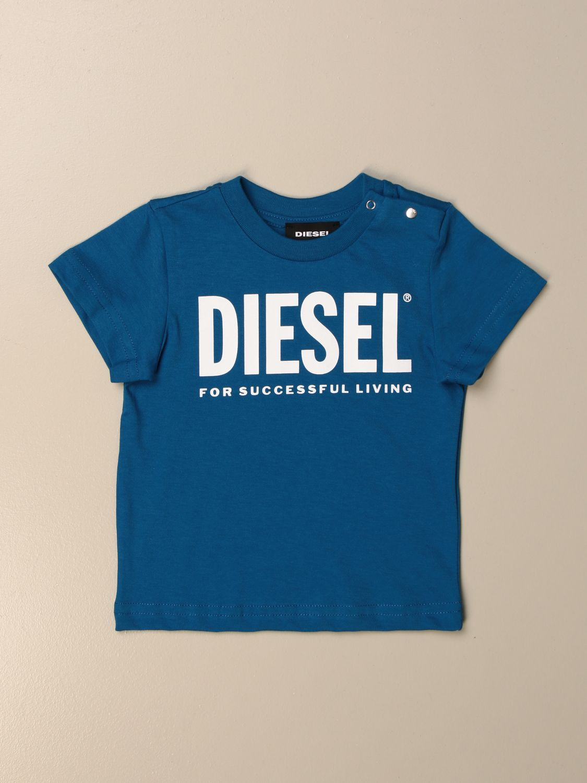 Camiseta Diesel: Camiseta niños Diesel azul oscuro 1
