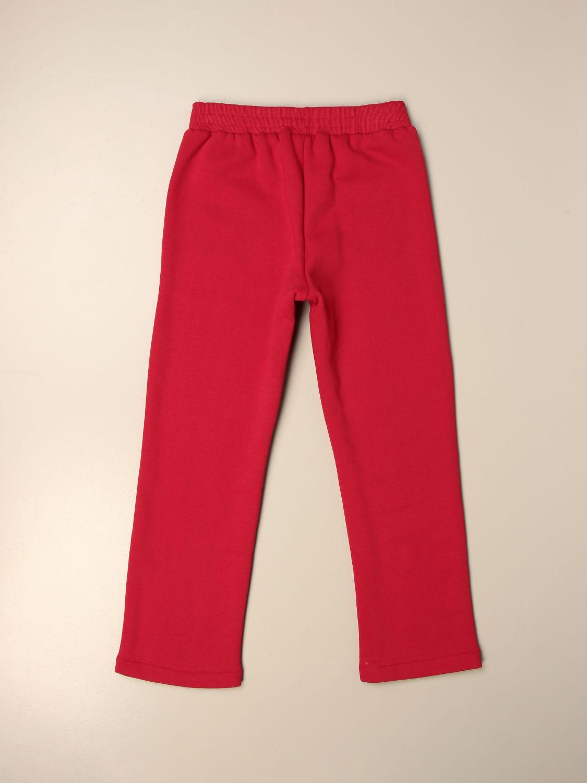 Pantalón Chiara Ferragni: Pantalón niños Chiara Ferragni rojo 2