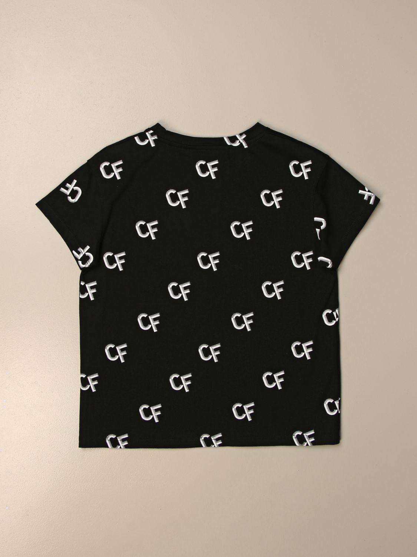 Camisetas Chiara Ferragni: Camisetas niños Chiara Ferragni negro 2