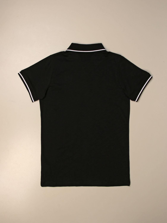 Polo Balmain: Camiseta niños Balmain negro 2