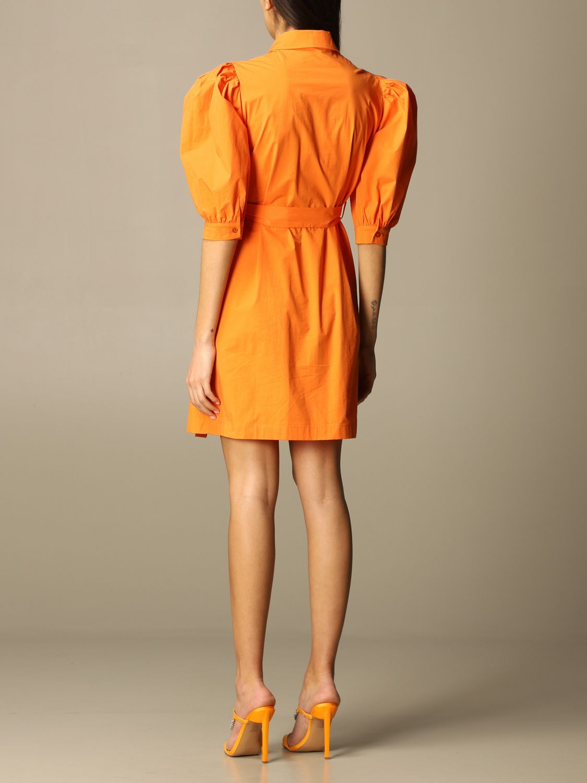 Boutique Moschino Kleid Damen Kleid Boutique Moschino Damen Orange Kleid Boutique Moschino 0416 0822 Giglio De