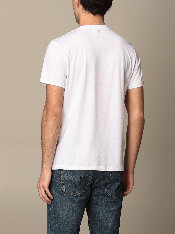 T-shirt Ami Alexandre Mattiussi: T-shirt men Ami Alexandre Mattiussi white 2