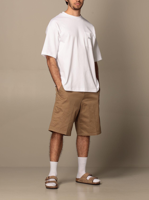 T-shirt Drole De Monsieur: T-shirt Drole De Monsieur con mini logo bianco 2