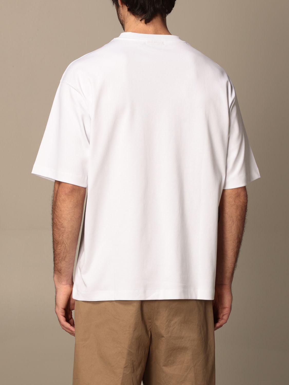 T-shirt Drole De Monsieur: T-shirt Drole De Monsieur con mini logo bianco 3