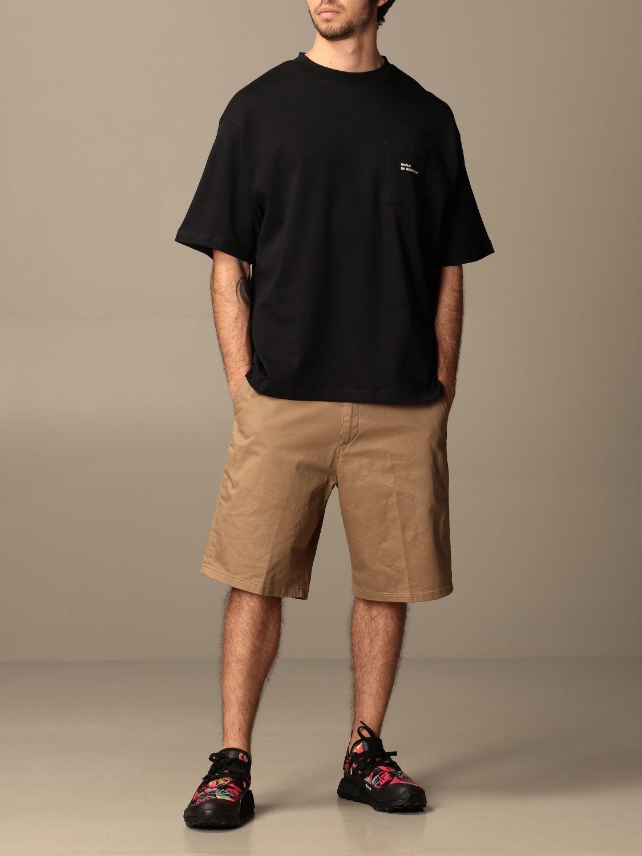 T-shirt Drole De Monsieur: T-shirt Drole De Monsieur con mini logo nero 2