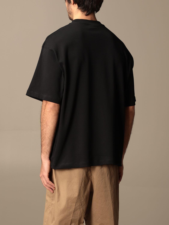T-shirt Drole De Monsieur: T-shirt Drole De Monsieur con mini logo nero 3